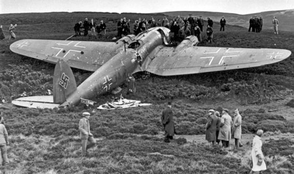 first-german-fighter-plane-downed-in-britain-529453