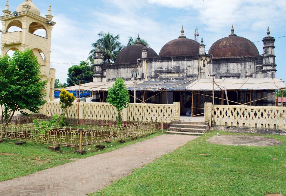 Panbari Mosque. The oldest mosque in Assam